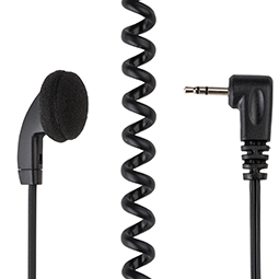 Receive-Only Earpiece w/ covered earbud