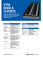 Dock A 14 Porte VT50 Specifiche Tecniche (ITA)