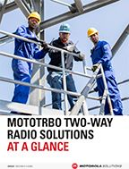 MOTOTRBO Solutions At-a-Glance