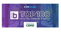 Named the top Chicago tech company – Built in Chicago