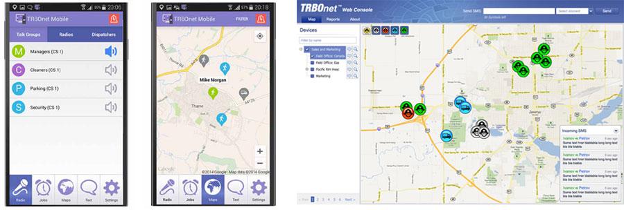 Trbonet Mobile Amp Trbonet Web Client Motorola Solutions