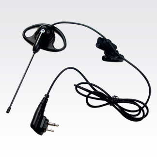motorola earpiece. d-style earpiece with boom microphone (56518) motorola a