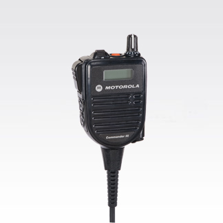 Communication Radios Accessories - Remote Speaker Microphone With Display (APX) - HMN4104