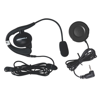 Push to talk radio headset