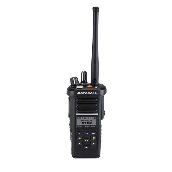 APX™ 4000 P25 PORTABLE RADIO