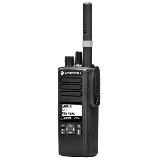DP4600/DP4601 Talkie Walkie professionnel VHF/UHF