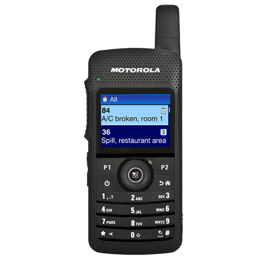 SL 7550 Portable Two-Way Radio