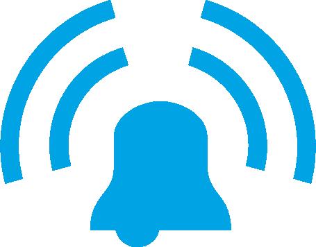 Communication radio ALARME ENREGISTREMENT D'ÉVÉNEMENTS