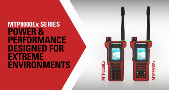 MTP8000Ex Series TETRA ATEX Radios Introduction