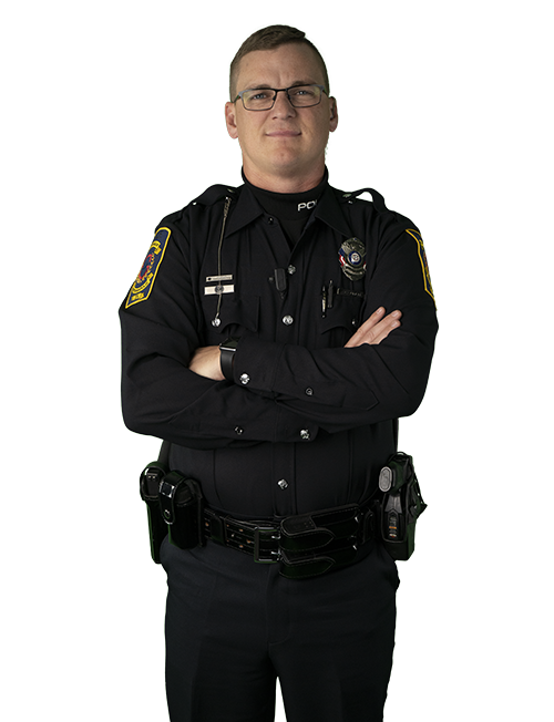 Image of quoted person, Officer Lucas Quinlin
