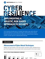 Challenges and Steps to Cyber Resilience
