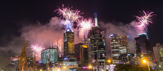Two-way radios automate critical processes for New Year's Eve