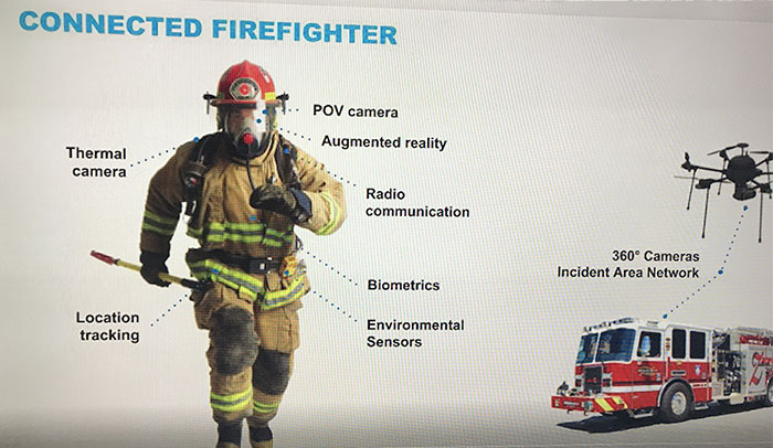 Mixed Reality Firefighter Demo at BAPCO 2018
