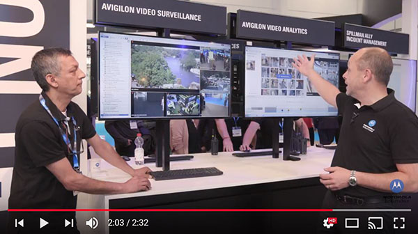 Avigilon at CCW