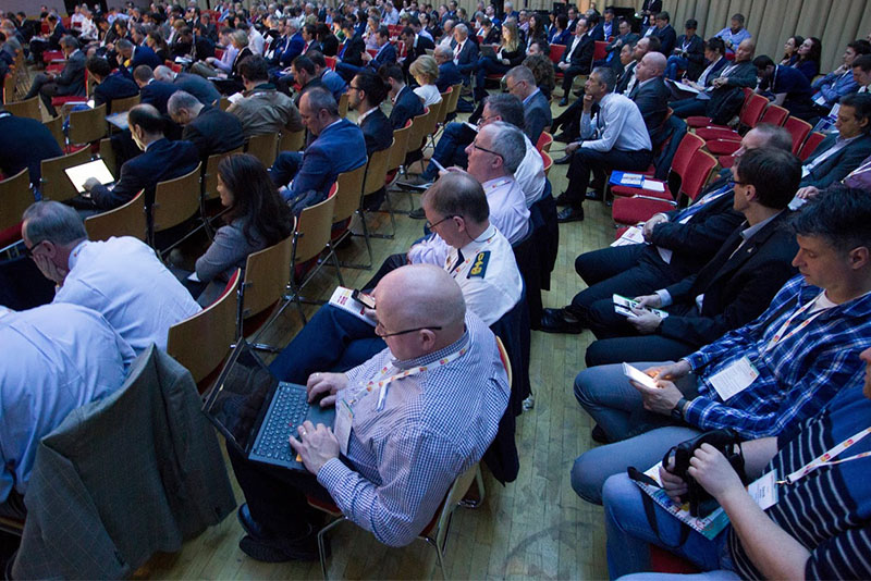 a very busy conference