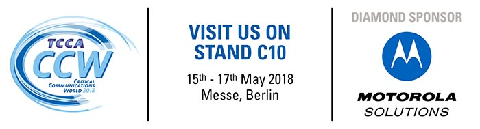 Motorola Solutions at Critical Communications World 2018