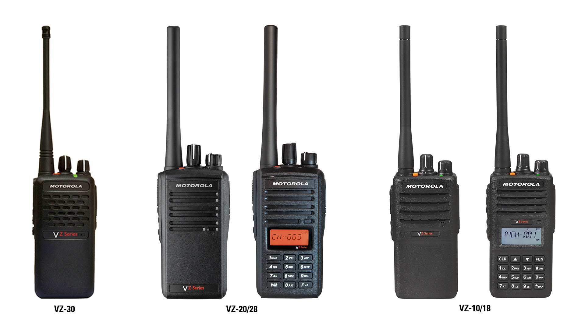 VZ Two Way Analogue Radios