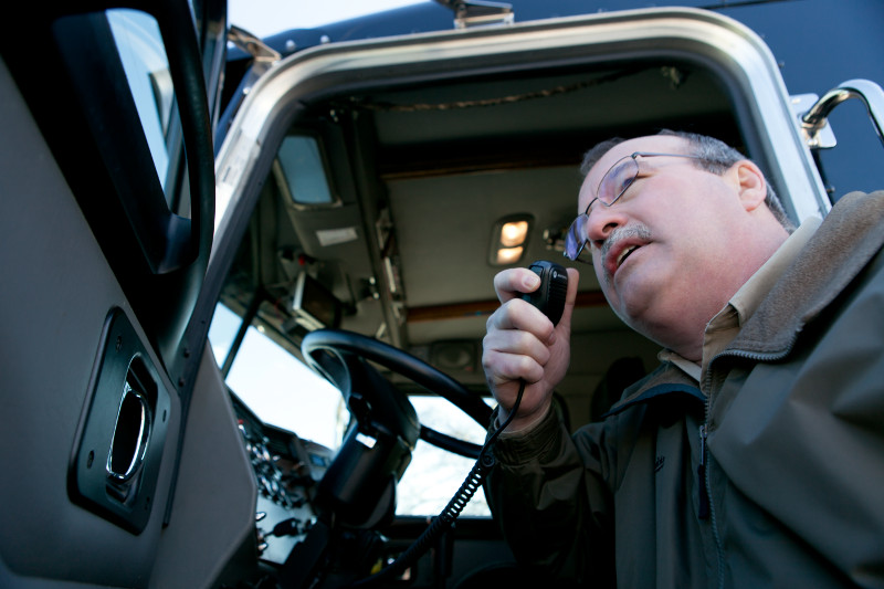 Two-Way Radios for Fleet Management and Operations