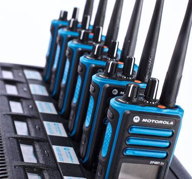 Two-way radio rental