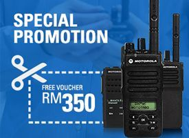 10TH ANNIVERSARY MOTOTRBO PROMOTION