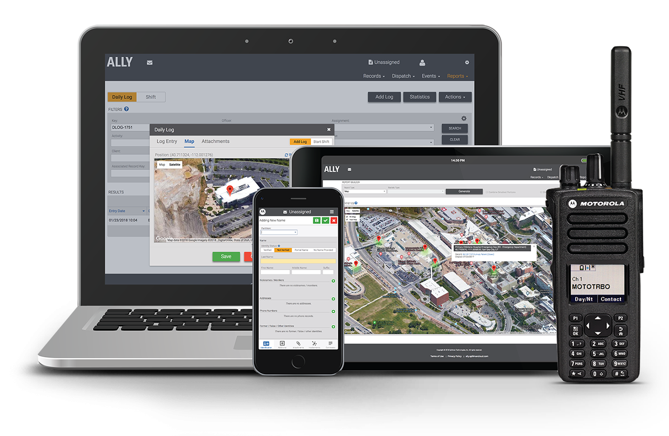 Ally security incident management software