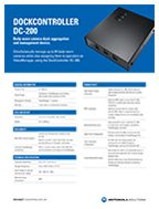 DC-200 DockController Specifications