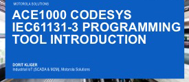 ACE1000 CODESYS IEC61131-3 Programming Tool: Introduction