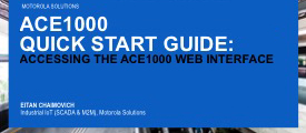 ACE1000 Quick Start Guide: Accessing the Web Interface