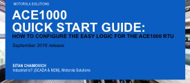 ACE1000 Quick Start Guide: Setting Up the Easy Logic Feature