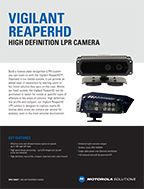 ReaperHD LPR Camera Specifications