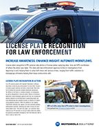 LPR for Law Enforcement Solution Brief