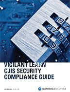 Vigilant LEARN CJIS Security Compliance Guide