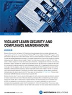 Vigilant LEARN Security and Compliance Memorandum