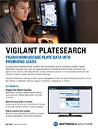 Vigilant PlateSearch Fact Sheet