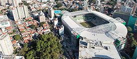 Brazilian Army uses LTE and radio communications to keep fans safe.