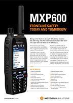 MXP600 Specifications