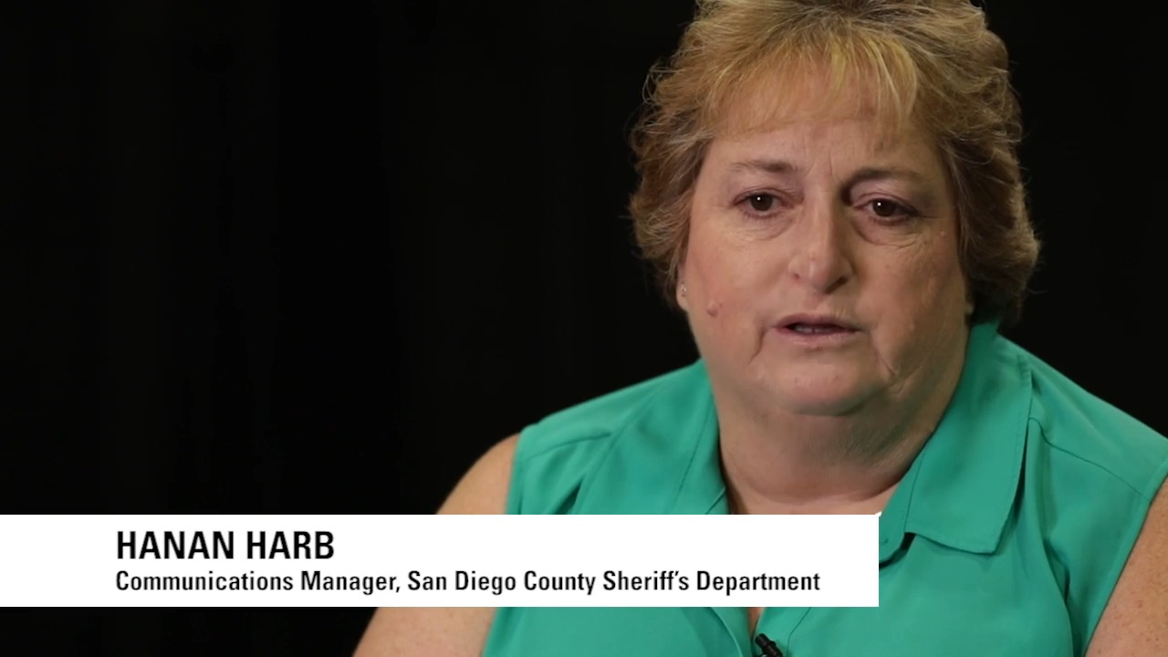 Embrace and Lead - Hanan Harb with San Diego County Sheriff on NG9-1-1