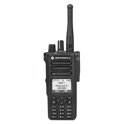 APX900 single-band P25 portable radio with number pad - Motorola