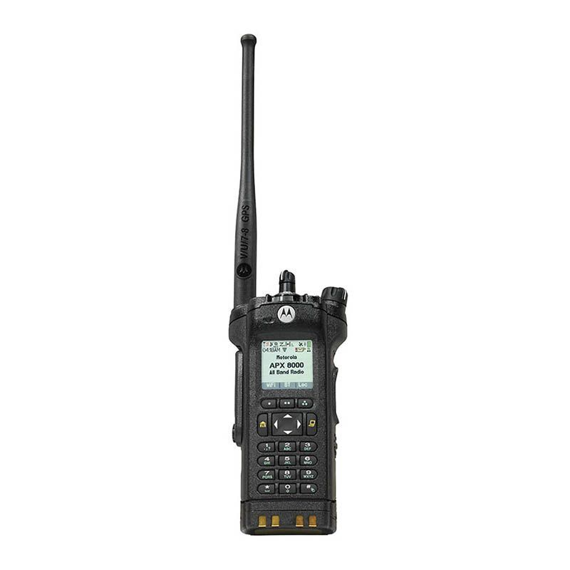 APX 8000 All-Band P25 Portable Radio - Motorola Solutions