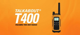 Motorola Talkabout T400 - Go Outdoors