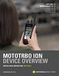 MOTOTRBO Ion Device Brochure