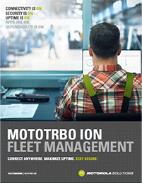 MOTOTRBO Ion Fleet Brochure