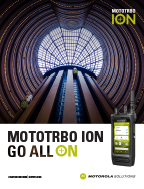 MOTOTRBO Ion Solution Brochure
