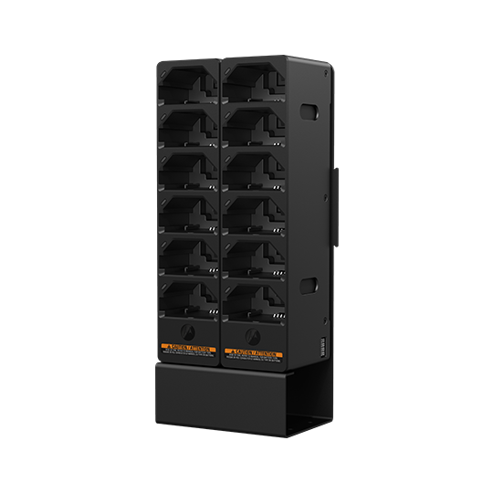 Tetra Modular Charger - Double Stacked with Bracket