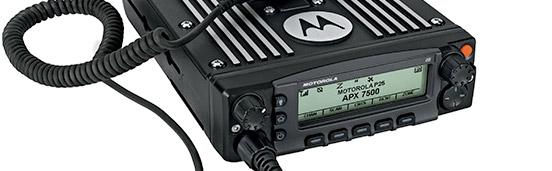 APX 7500 Multiband Mobile Radio