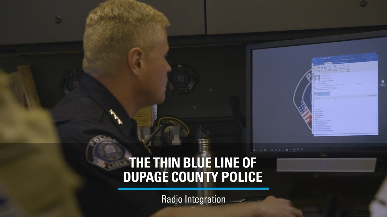 The Thin Blue Line of DuPage County Police