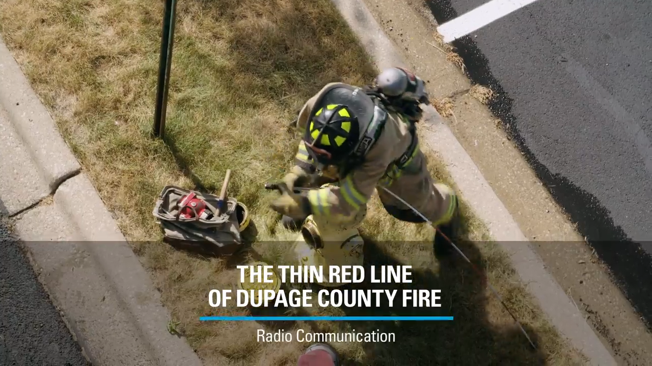 The Thin Red Line of DuPage County Fire