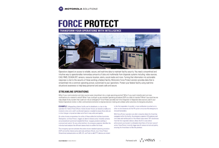 Force Protect Solution Brief