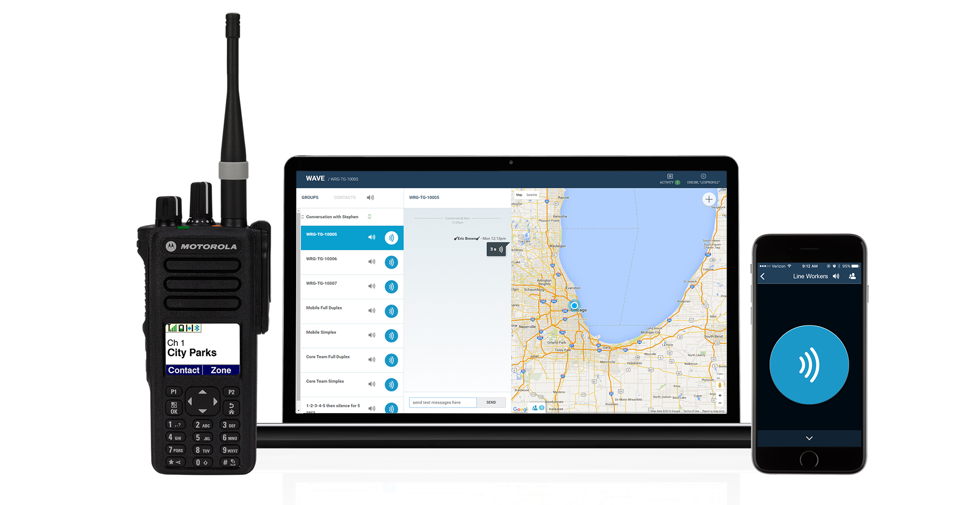 Gps Tracking Devices >> Motorola Team Communications - Motorola Solutions - Europe, Middle East and Africa