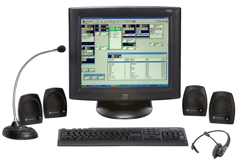 MCC7500 Two-position Console System